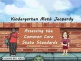 Kindergarten Math Jeopardy Aligned w Common Core State Sta