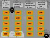 Kindergarten Math Jeopardy ~ CCSS Promethean/ClassFlow Halloween Flipchart Game