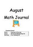 Kindergarten Math Journal - August to May COMMON CORE
