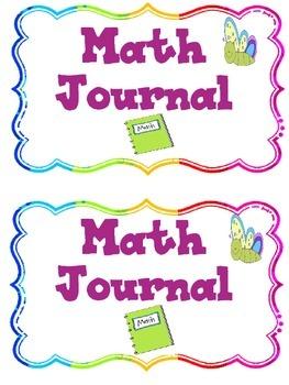 Kindergarten Math Journal (Geometry)