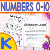 Numbers to 10 worksheets | Identify Numbers to 10 | Ten Fr