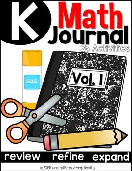 Kindergarten Math Journal Volume 1