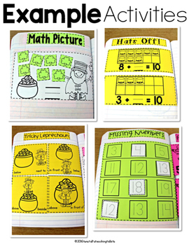 Kindergarten Math Journal Volume 7
