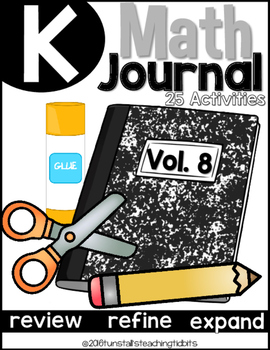 Kindergarten Math Journal Volume 8