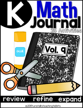 Kindergarten Math Journal Volume 9