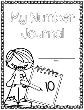 Number of the Day Activities (Kindergarten Number Math Journal)