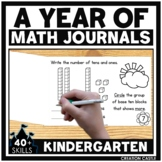 Kindergarten Math Journals Bundle