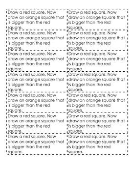 Kindergarten Math Journals MEASUREMENT AND DATA Common Core