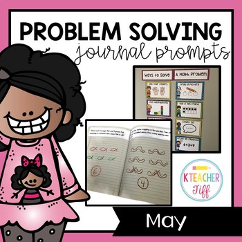 Kindergarten Math Journals: May Story Problems