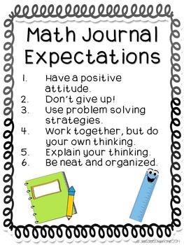 Math Journals: Measurement