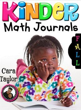 Kindergarten Math Journals ~ Notebooks (Fall Edition)