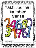 Math Journals: Number Sense