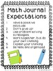 Math Journals: Patterns & Sorting