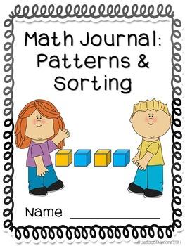 Math Journals: Patterns & Sorting