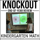 Kindergarten Math Knockout {End of the Year REVIEW}