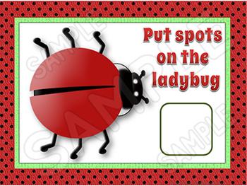 Ladybug Math Activities