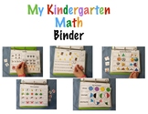 Kindergarten Math Learning Binder