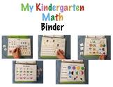 Interactive Math Learning Binder