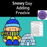 Winter Math Literacy Freebie NO-PREP