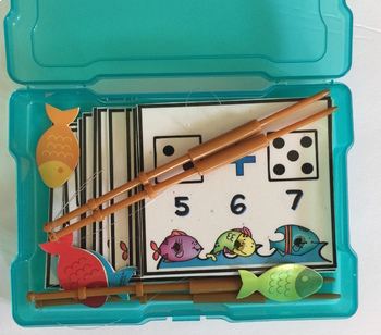 Kindergarten Math & Literacy Poke Cards Bundle