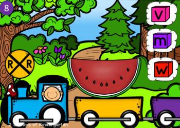Kindergarten Math & Literacy Power Point Games
