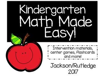 Kindergarten Math Made Easy