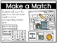 Kindergarten Math: Make a Match Numbers to 10