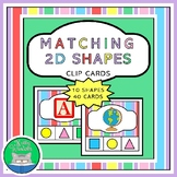 Kindergarten Math - Matching 2D Shapes with Real Life Obje