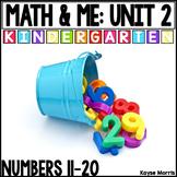 Kindergarten Math Numbers 11-20