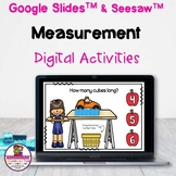 Kindergarten Math Measurement Google Slides & Seesaw Dista