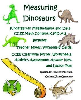 Kindergarten Common Core Math Measurement and Data-Measuri