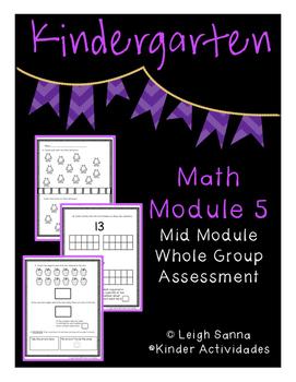 Kindergarten Math Mid Module 5 Assessment Whole Group