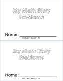 Story Problems Booklet