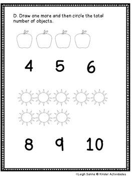 Kindergarten Math Module 1 Whole Group Assessment