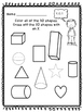 Kindergarten 2D & 3D Shapes