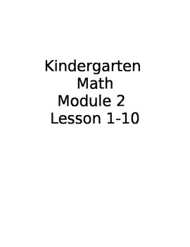 Kindergarten Math Module 2 Smart board lesson (Shapes)