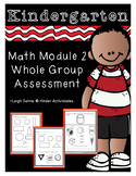 Kindergarten Math Module 2 Whole Group Assessment: Shapes