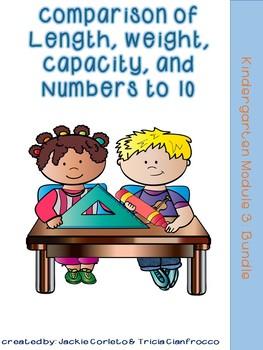 Kindergarten Math Module 3 Bundle