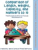 Kindergarten Math Module 3 Mid & End Assessments