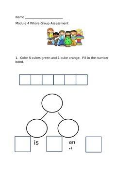 Kindergarten Math Module 4 Assessment