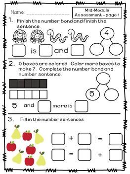 Kindergarten Math Module 4 Bundle