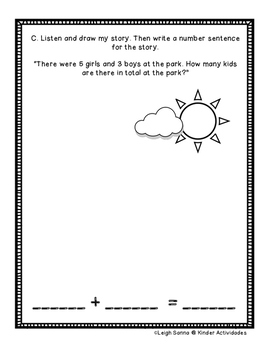 Kindergarten Math Module 4 Mid-Module Assessment: Whole Group