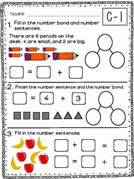 Kindergarten Math Module 4 Quick Checks