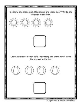 Kindergarten Math Module 4 End of Module Written Assessment
