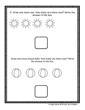 Kindergarten Math Module 4 End of Module Written Assessment