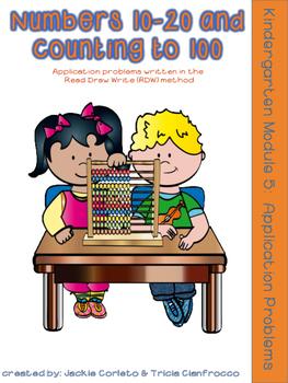 Kindergarten Math Module 5 Application Problems
