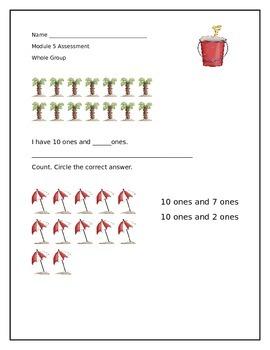 Kindergarten Math Module 5 Assessment