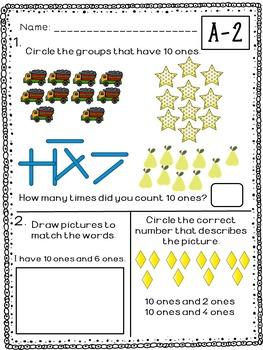 Kindergarten Math Module 5 Bundle