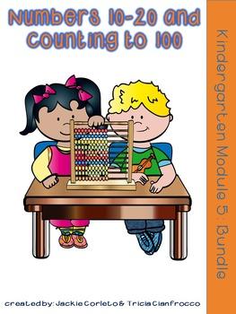 Kindergarten Math Module 5 Bundle
