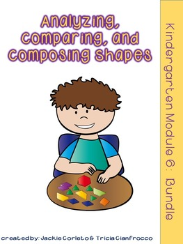 Kindergarten Math Module 6 Bundle